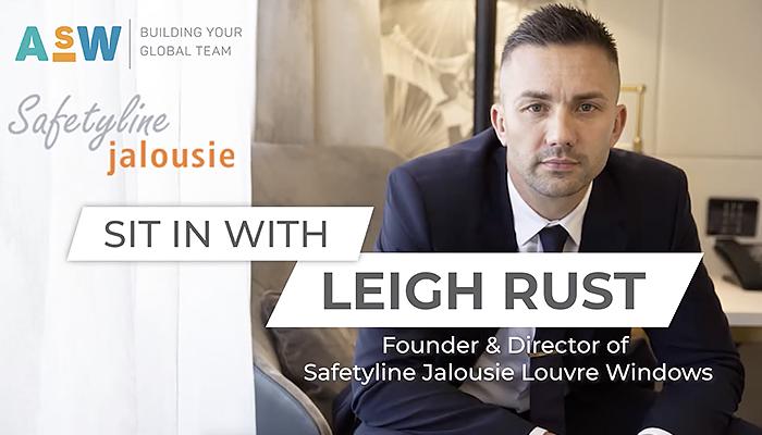 Leigh Rust of Safetyline Jalousie