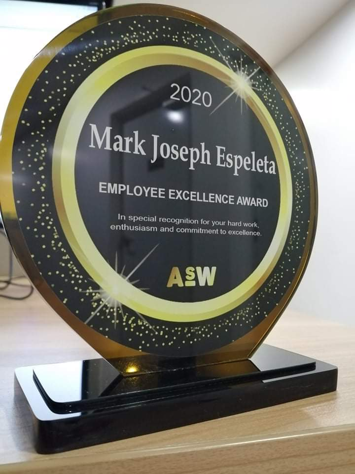 MJ Employee Excellence Award