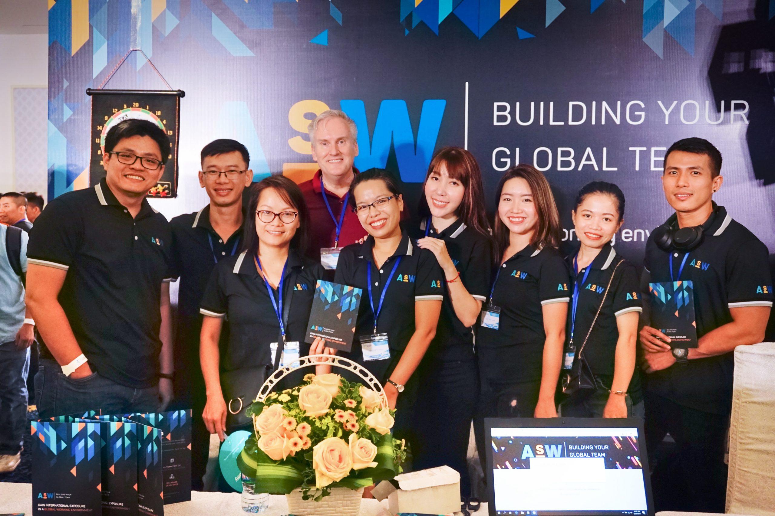 ASW team awards